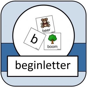 beginletter - woord